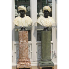 Bust Sculpture Statue with Stone Marble Granite Limestone Sandstone (SY-S316)
