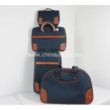 Wholesale 3 Pieces Soft Travel Luggage Set