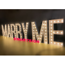 Party Wedding Events Marquee LED Light Letter Signs