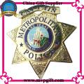 Pin personalizado do metal para o uso do emblema da polícia