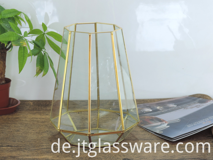 Home decoration Glass Geometric Terrarium 2