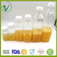 PET высококачественный оптовый различный объем прозрачный пустой пластиковый сок бутылки