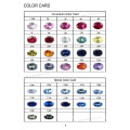 Corundum and Spinel Color Chart