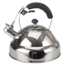 Чайник со свистком и слоистым дном капсулы