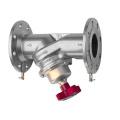 China made wcb flanged static balancing valve 2''