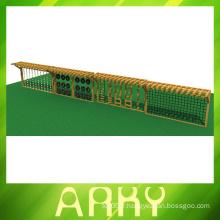 Équipement de terrain de jeu pour écoles en plein air