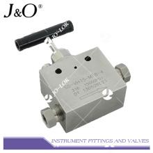 Válvula de agulha Instrumrnt de aço inoxidável de melhor venda