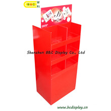 Cardboard Display, Counter Display, Pop Display, Corrugated Display, SGS Approved Floor Display Stand, Paper Display, Retail Display (B&C-A049)