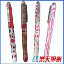 Heat Transfer Custom Logo Plastic Gel Ink Pen (LT-C799)