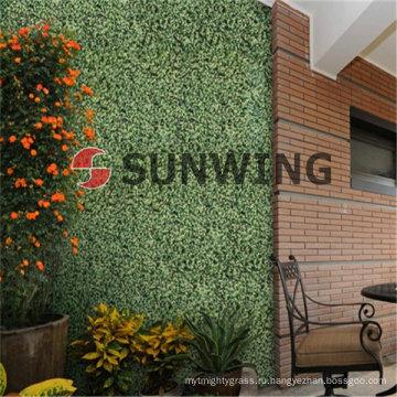 Искусственное поле хедж-стены пластик листовой синтетический изгороди самшита мат мы также принимаем OEM, своевременную поставку и гарантию качества.