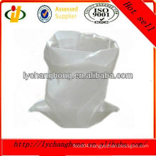 factory promotional pp woven white sugar bag