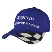 Racing Caps Schwarz & Weiß Plaid F1 Hüte