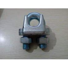 Clip de câble métallique galvanisé
