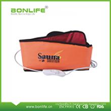 La ceinture de massage de sauna accélèrent la circulation de sang, draguent le méridien de corps, se détendent et soulagent la fatigue, efficacement
