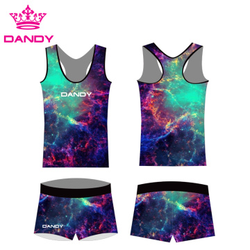 Sublimation Impression Tenue Cheerleading Fantaisie Spark