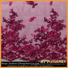 2016 Atacado África Lace Fabric Design Vestido de Noiva e Casa Fashion No.CA255CB-1