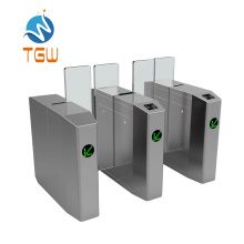 Sliding Turnstile Barriers Gate with RFID Card Solution Access Automatic Door Temperature Access Control Turnstile Access Control Turnstile Security System