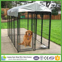 Neue Produkte 2016 Black Powder Coated Geschweißte Qualität Dog Kennel