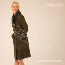 Lady Reversible Merino Shearling Coat In Winter