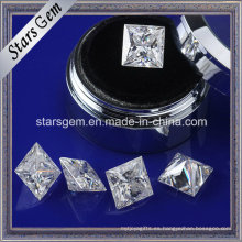 Forever Brilliant Princess Cut Moissanite Jewelry Making