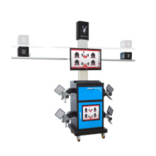 2016 hot selling tire service equipment 3D high precise wheel alignment for cars approved by fasep wheel alignment dealer