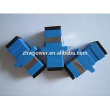 Especial grossista SC singlemode fibra ótica adaptador SC / UPC fibra óptica conector 500 PCS / LOTS