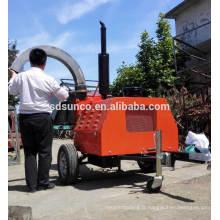 Pince à bois PTO sur tracteur agricole