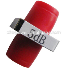 1dB-30dB Adaptador / Fijo / Brida D Tipo Atenuador de fibra óptica, PC FC Conector de fibra óptica Atenuador de fibra óptica
