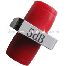 1dB-30dB Adaptateur / Fixed / Flange D Type Atténuateur à fibre optique, FC PC Fiber Optic Connector Atténuateur optique de fibre