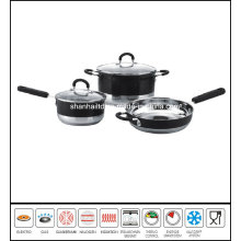 5PCS Color Stainless Steel Cookware Set