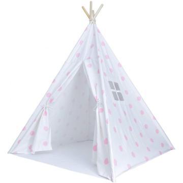 Детские палатки в горошек для детей