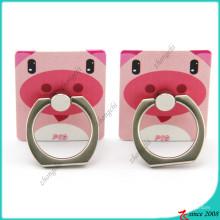 Soporte de anillo de dedo de cerdo rosa para accesorios de teléfono (SPH16041105)
