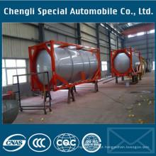 Contentor químico do tanque de gás do ISO da carga de 23000liters