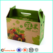 Kraft Paper Corrugated Packaging Boxes With Handle