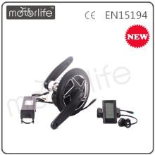 MOTORLIFE / OEM 2015 novos 36v 250w 8fun kits motor mid drive, kit de conversão para ebike