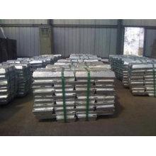 Fabricante Fonte directa Lingote de zinco de alta qualidade 99.995%