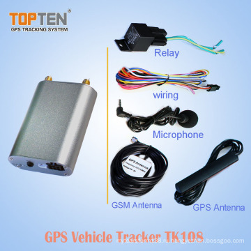 В реальном масштабе времени миниый отслежыватель GPS автомобиля с он-лайн отслеживая програмным обеспечением и передвижными применениями, метками CE (WL)