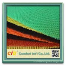 Tissu de maille de 100% polyester 3d pour la couverture de siège de voiture