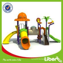 Kinder billig Kunststoff Outdoor Spielplatz LE.DW.010 Verwendet in Pre-School und Park