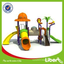 Children Cheap Plastic Outdoor terrain de jeu LE.DW.010 utilisé dans la pré-école et le parc