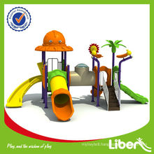 Children Cheap Plastic Outdoor playground LE.DW.010 Used in Pre-School and Park