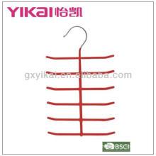 Percha de metal con revestimiento de PVC