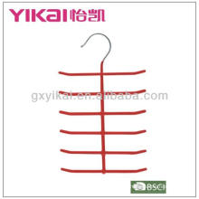 PVC coated metal tie hanger