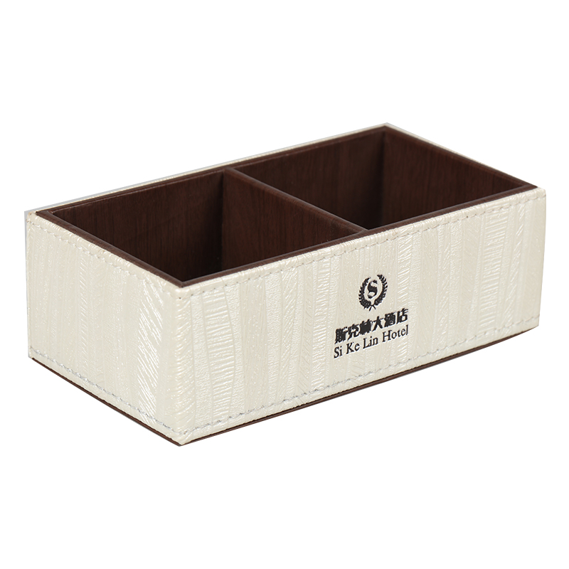 اﻷكريليك مزدوجة العلبة الشاي آند الشاي مربعات للفنادق