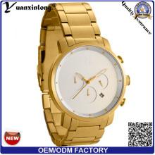 Yxl-105 Luxus Edelstahl Watch Chronograph automatisches Datum Men′s Uhren Geschäftsmann Schweizer Mode Männer Armbanduhr Quarzuhr