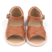 Färgglada Brown Baby Sample Sandals