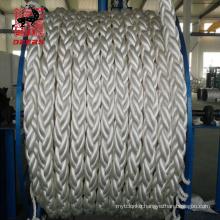 Ultra- -high molecular weight polyethylene fiber rope UHMWPE rope braided marine mooring rope