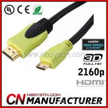 HDMI Um tipo para cabo tipo C 1.4