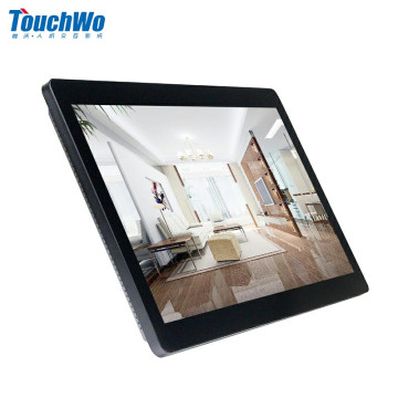27 Pantalla táctil de montaje en pared AIO para Windows