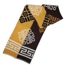 Acryl gestrickte Winter Paar Mode Schals (YKY4191-Paar 2)